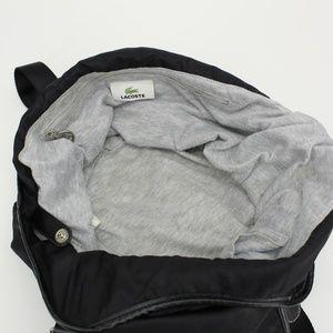 Lacoste Bags - Lacoste Black Nylon Hobo Bag